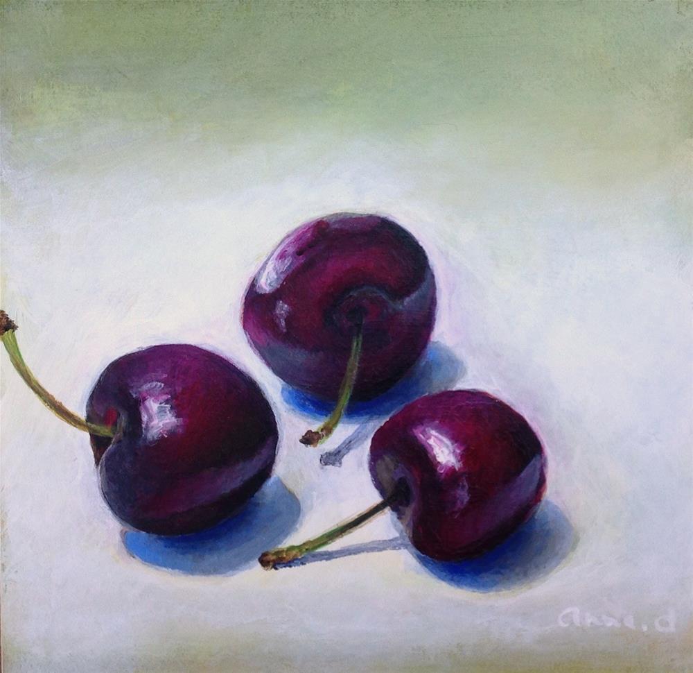 """""""Un, Deux, Trois..."""" original fine art by Anne Ducrot"""