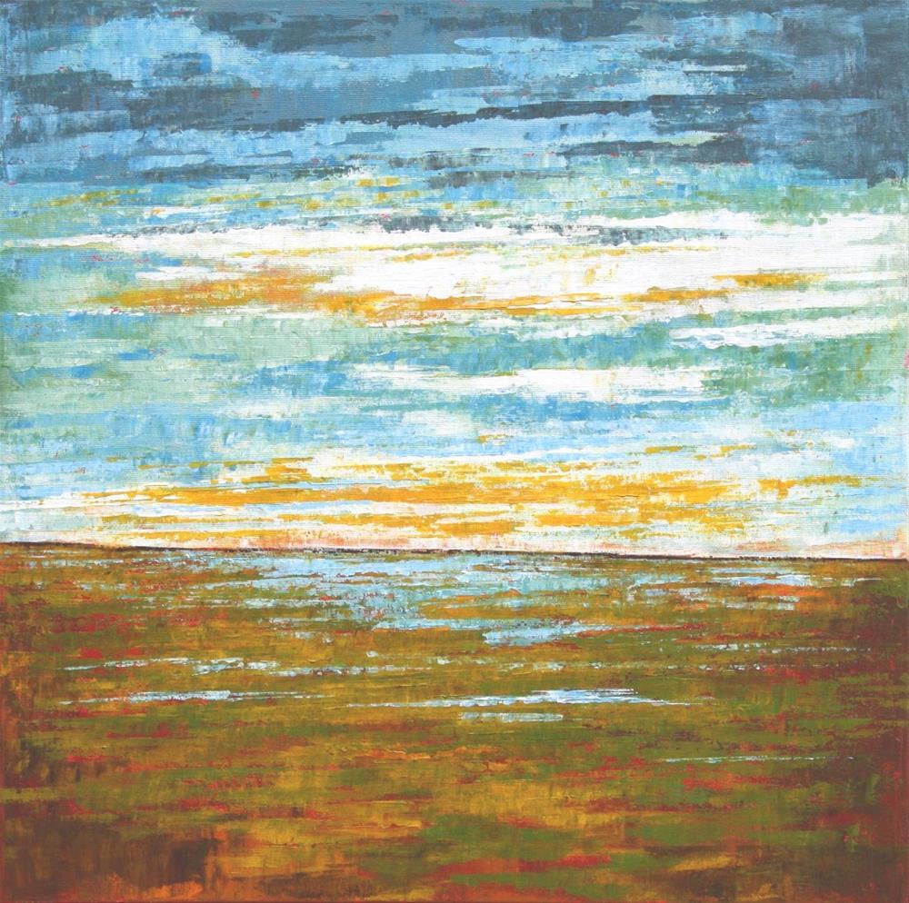 """Spring Marsh"" original fine art by Sage Mountain"