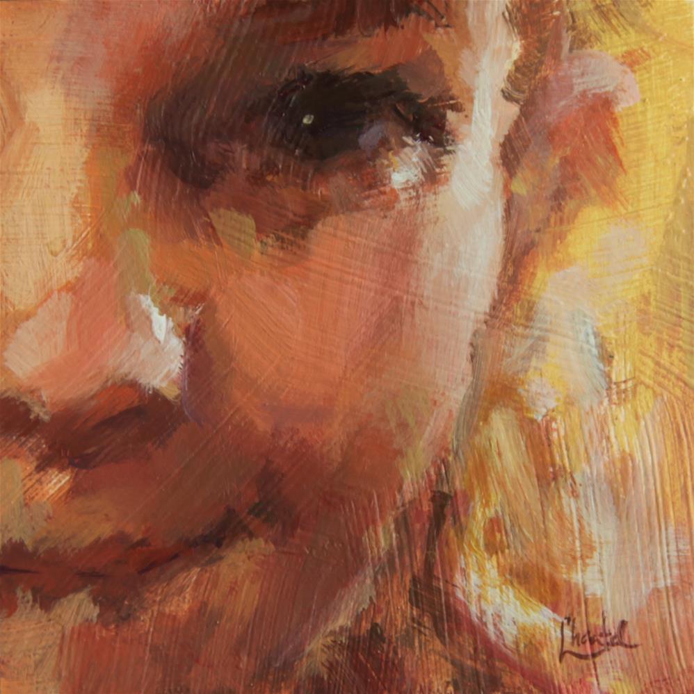 """Sunshine"" original fine art by Chantel Barber"
