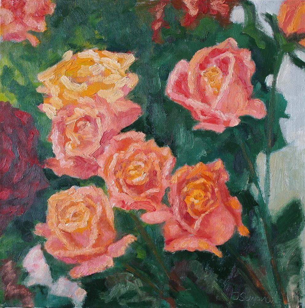 """roses"" original fine art by Juri Semjonov"
