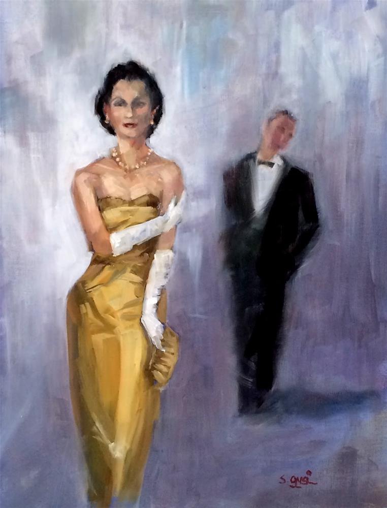 """She Said He Said"" original fine art by Suzanne Gysin"