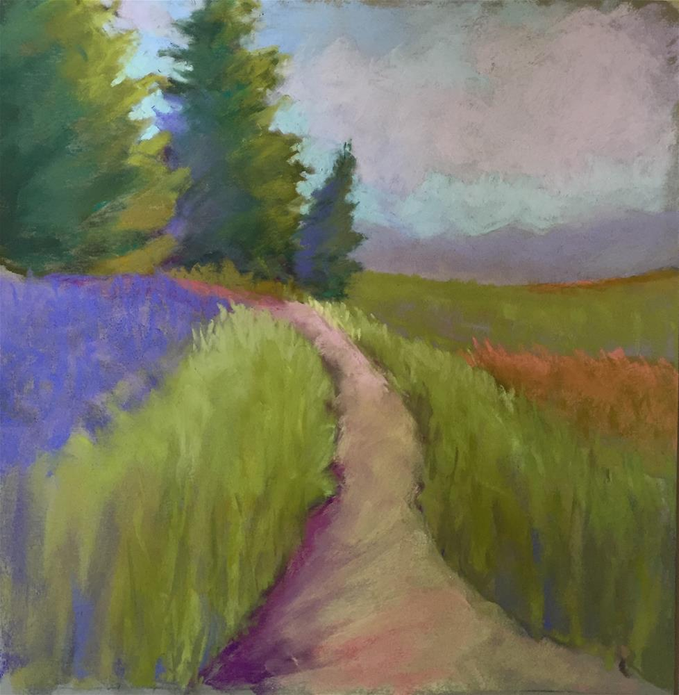 """Walking Path"" original fine art by Sandi Miller"