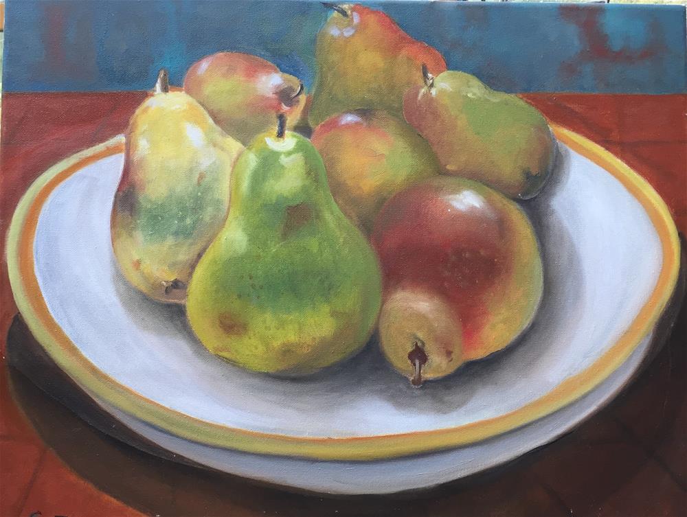 """""""Seven in a Bowl"""" original fine art by sondra ragon"""