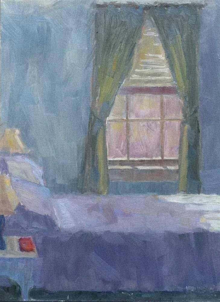 """Noah's Room"" original fine art by Katharine March"