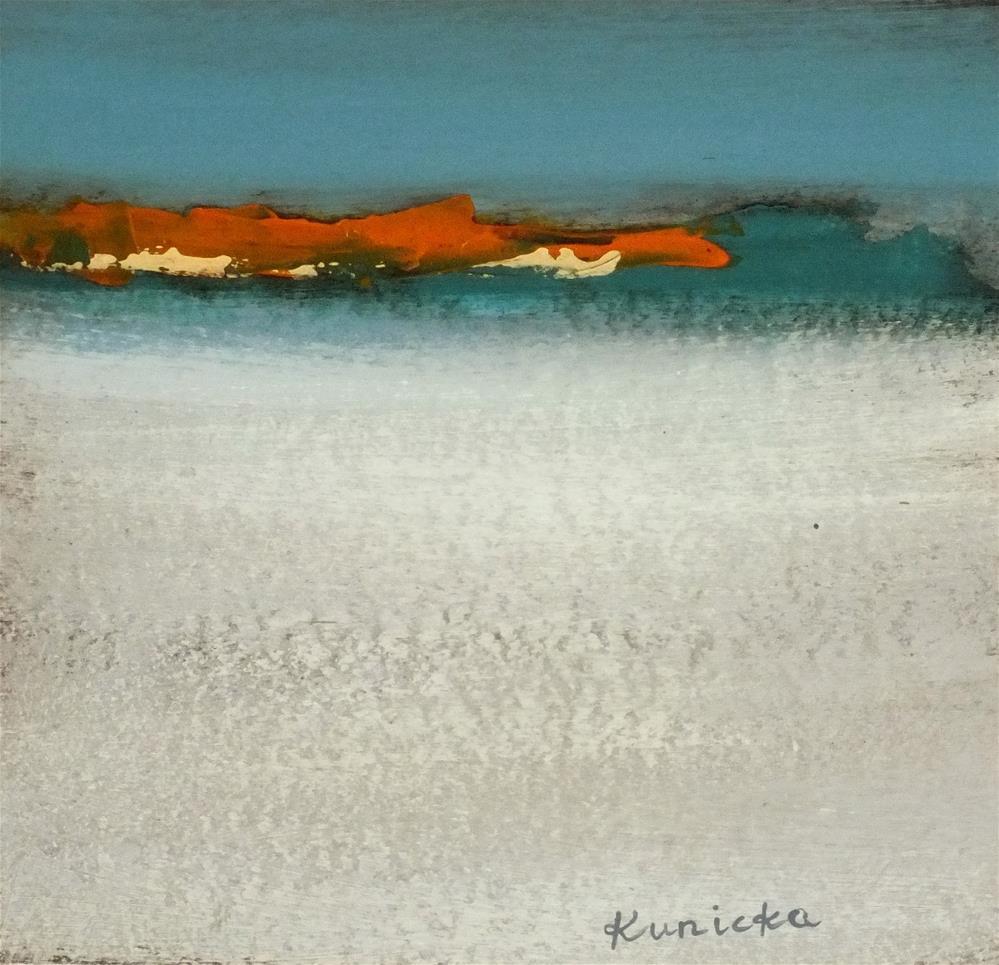 """Landscape 192"" original fine art by Ewa Kunicka"