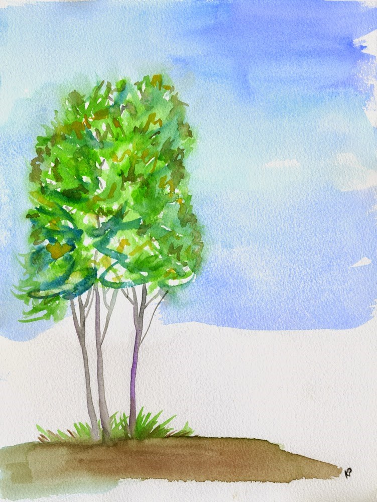 """For the Love of Trees"" original fine art by Kali Parsons"