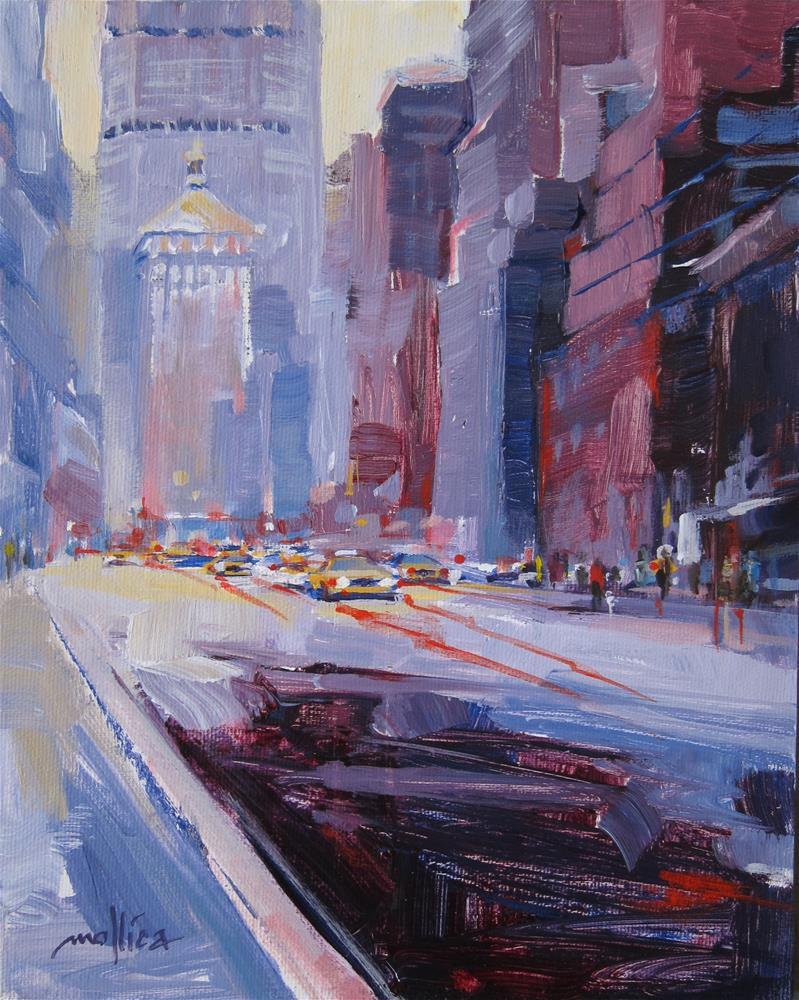 """New York State of Mind"" original fine art by Patti Mollica"