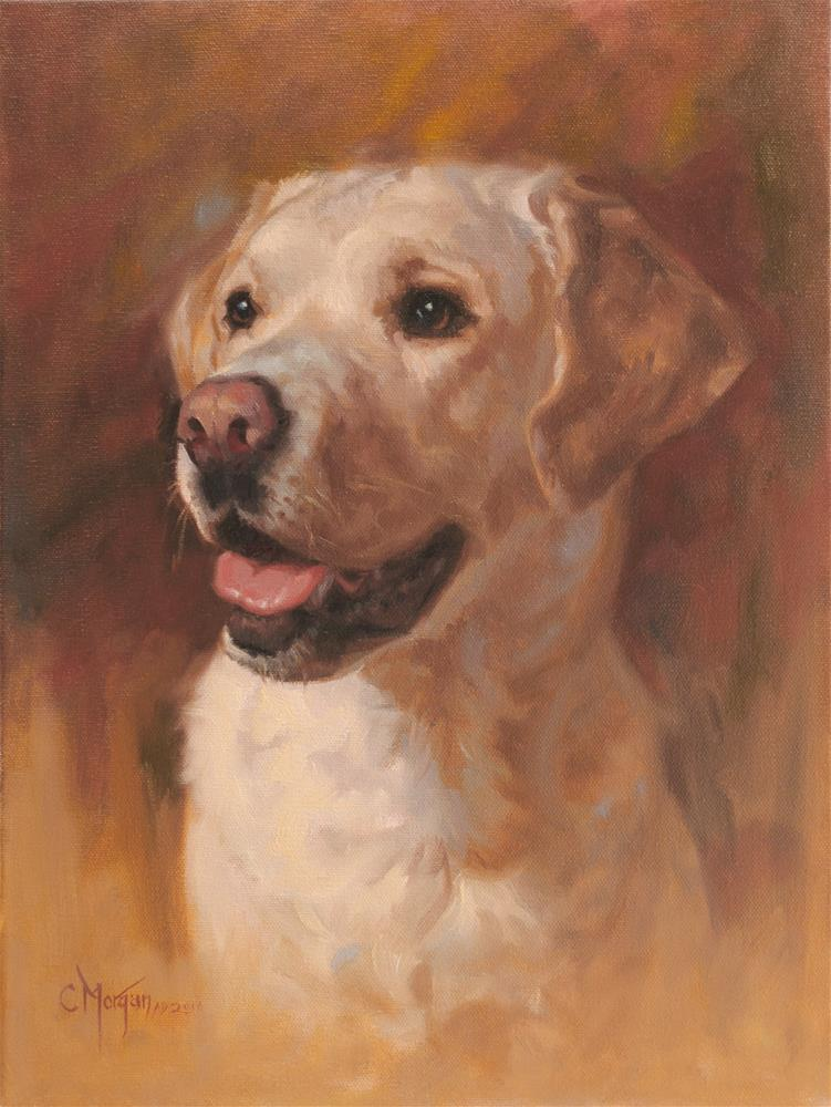 """Marley"" original fine art by Cecile W. Morgan"