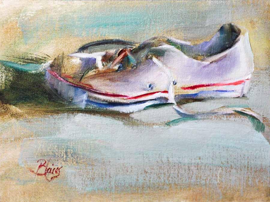 """Classic"" original fine art by Pamela Blaies"