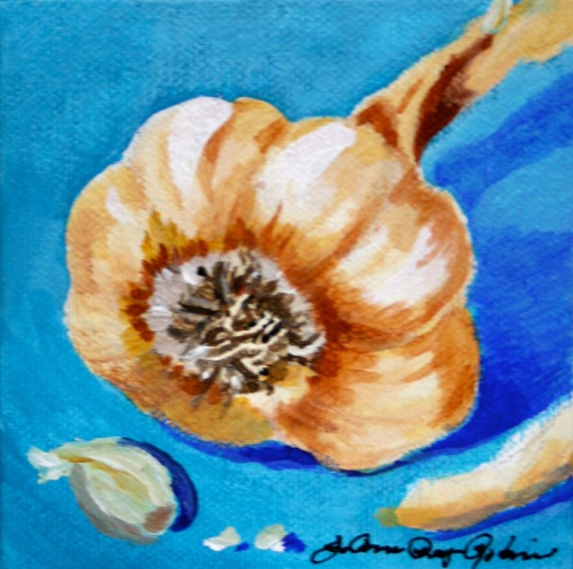 """The Bulb"" original fine art by JoAnne Perez Robinson"