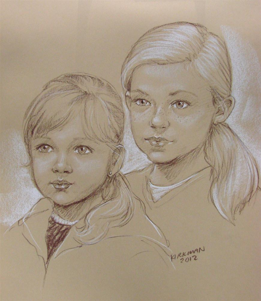 Quick-Sketch of the day - #3 original fine art by Rita Kirkman