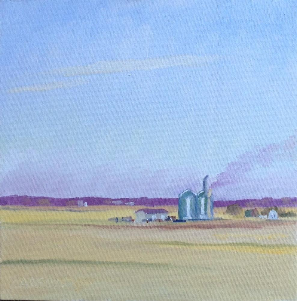 """Harvest Time"" original fine art by Eric Larson"