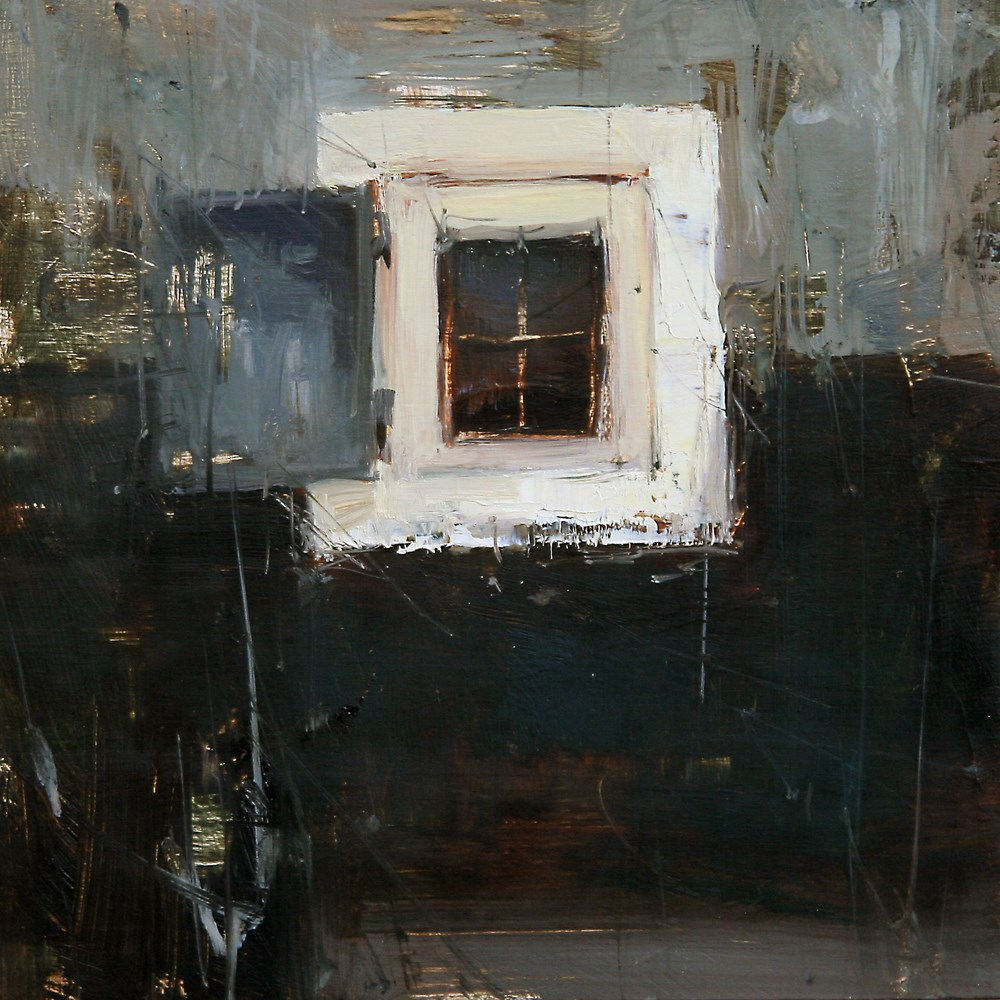 """The Window"" original fine art by Tibor Nagy"