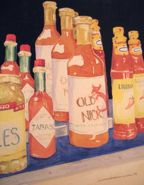 """Hot Stuff"" original fine art by Judith Freeman Clark"