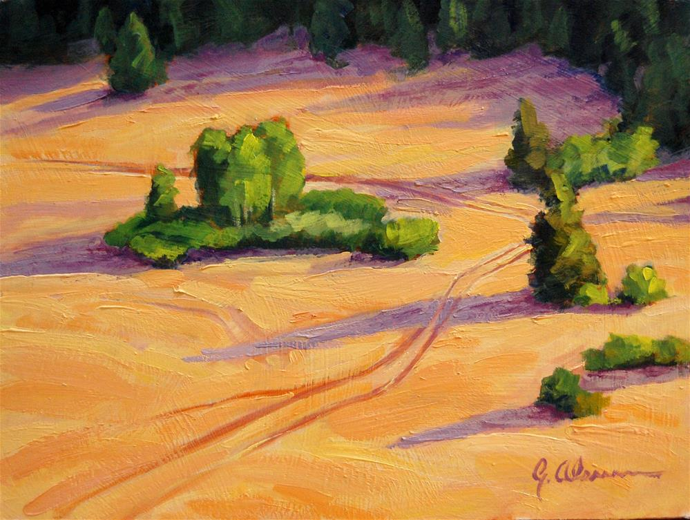 """Below Pole Hill Road"" original fine art by Gary Alsum"