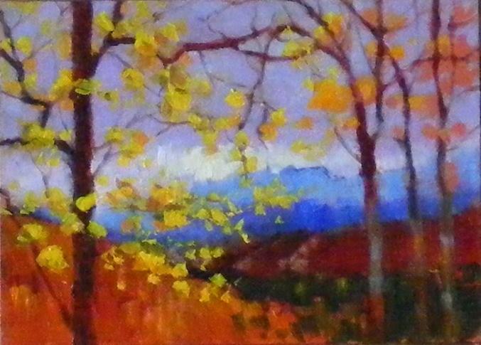 """Morning Cool"" original fine art by Celine K.  Yong"