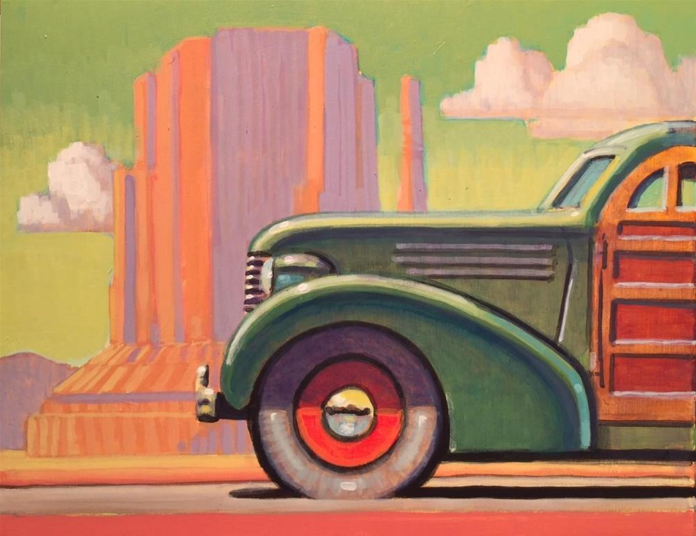 """Southern Route"" original fine art by Robert LaDuke"