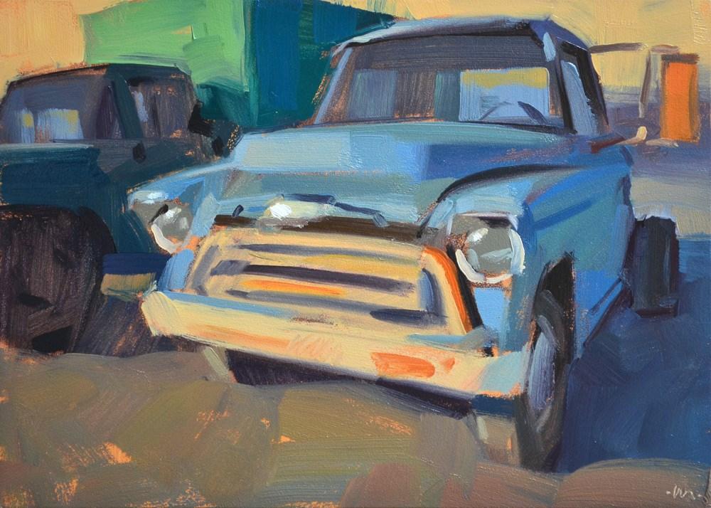 """""""Still Runs"""" original fine art by Carol Marine"""