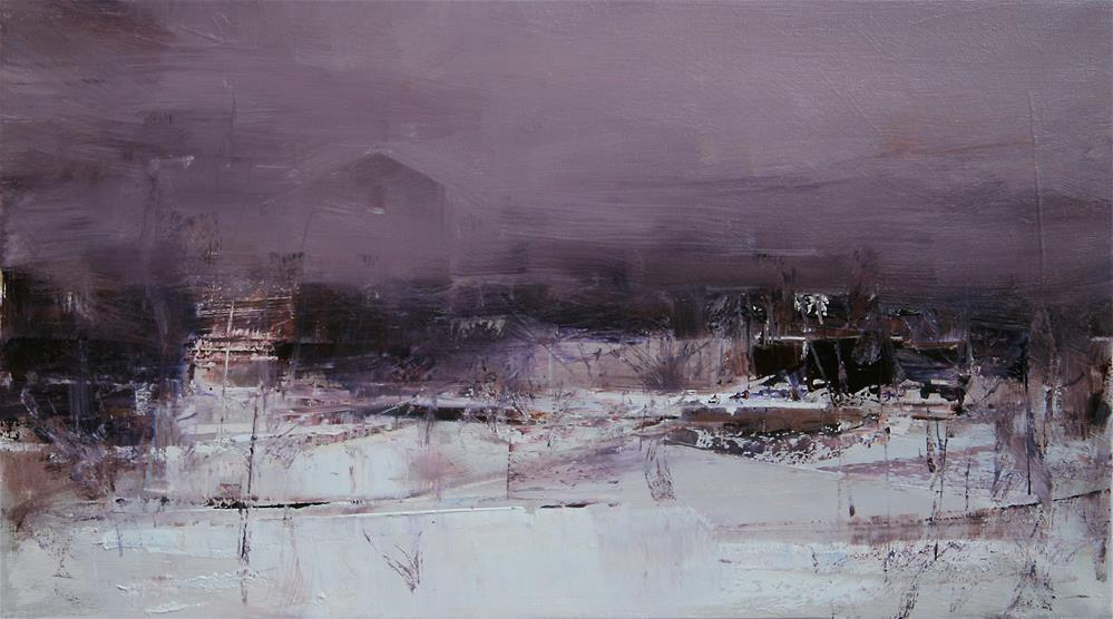 """The Following Morning"" original fine art by Tibor Nagy"