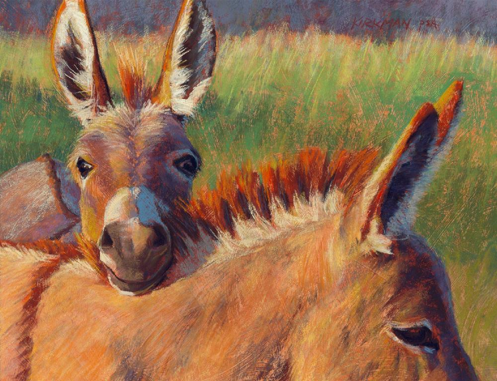 """Head Rest"" original fine art by Rita Kirkman"