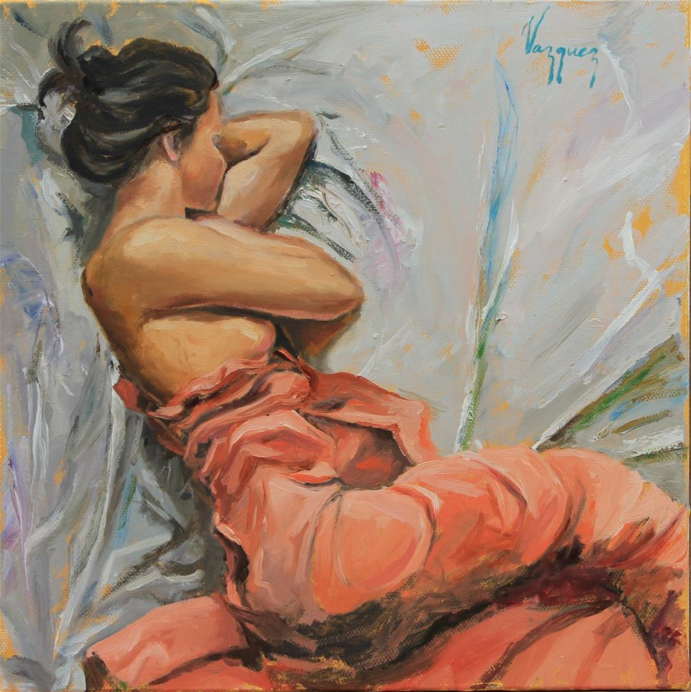 """Resting"" original fine art by Marco Vazquez"