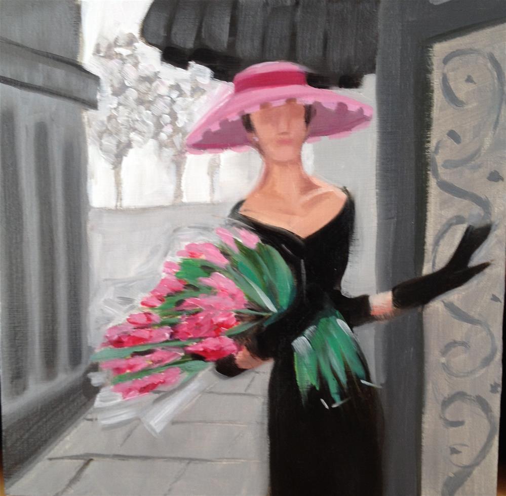 """Enter Spring"" original fine art by Bev Thibault"