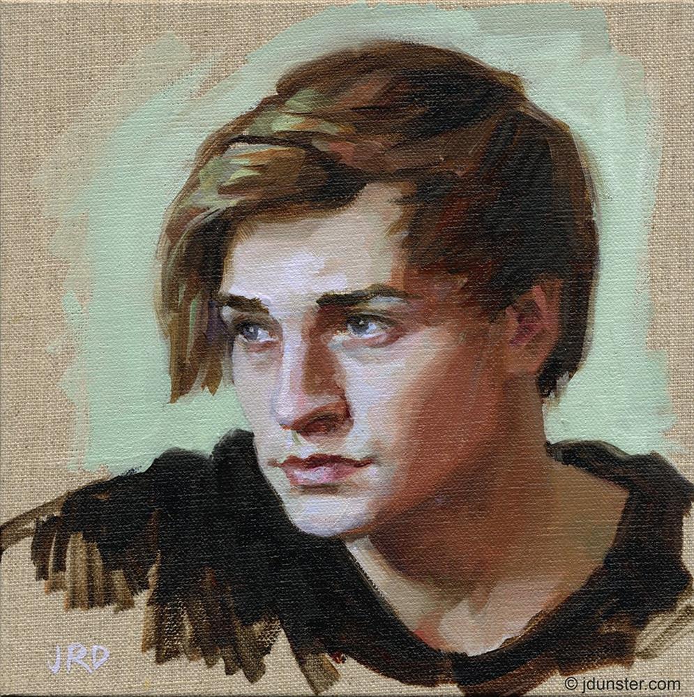 """""""Windswept"""" original fine art by J. Dunster"""
