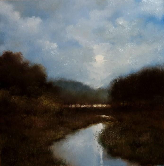 """East River"" original fine art by Bob Kimball"