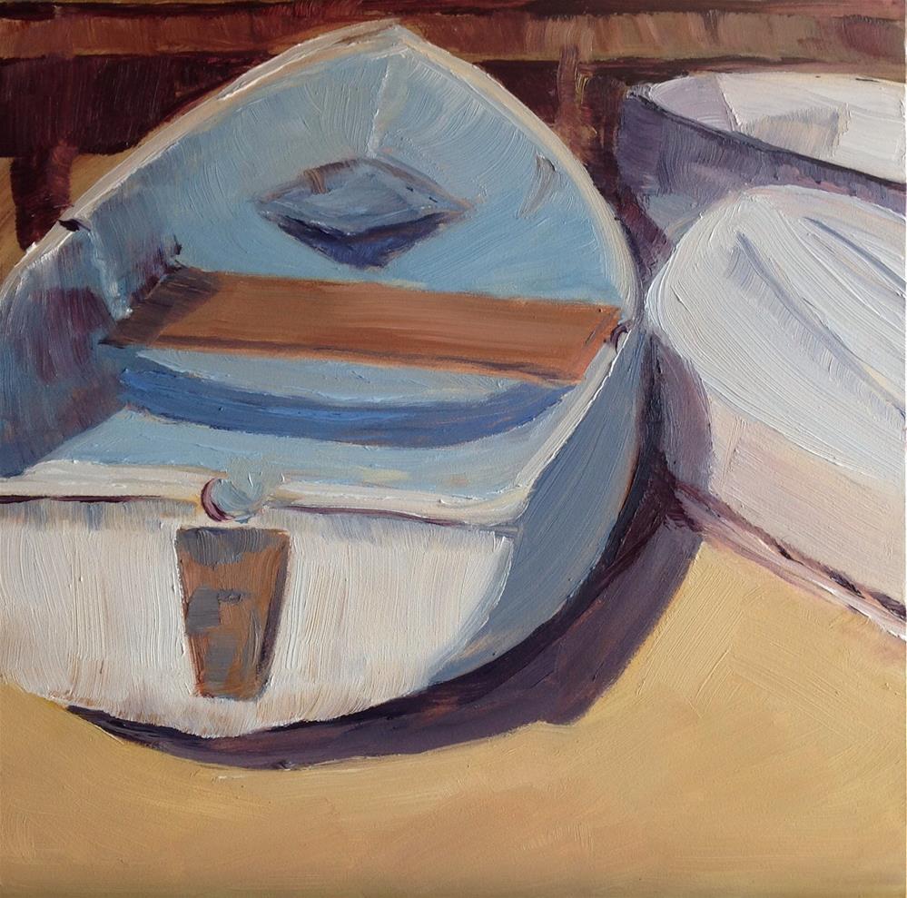 """""""Boats Series 2"""" original fine art by Debra Kennedy"""
