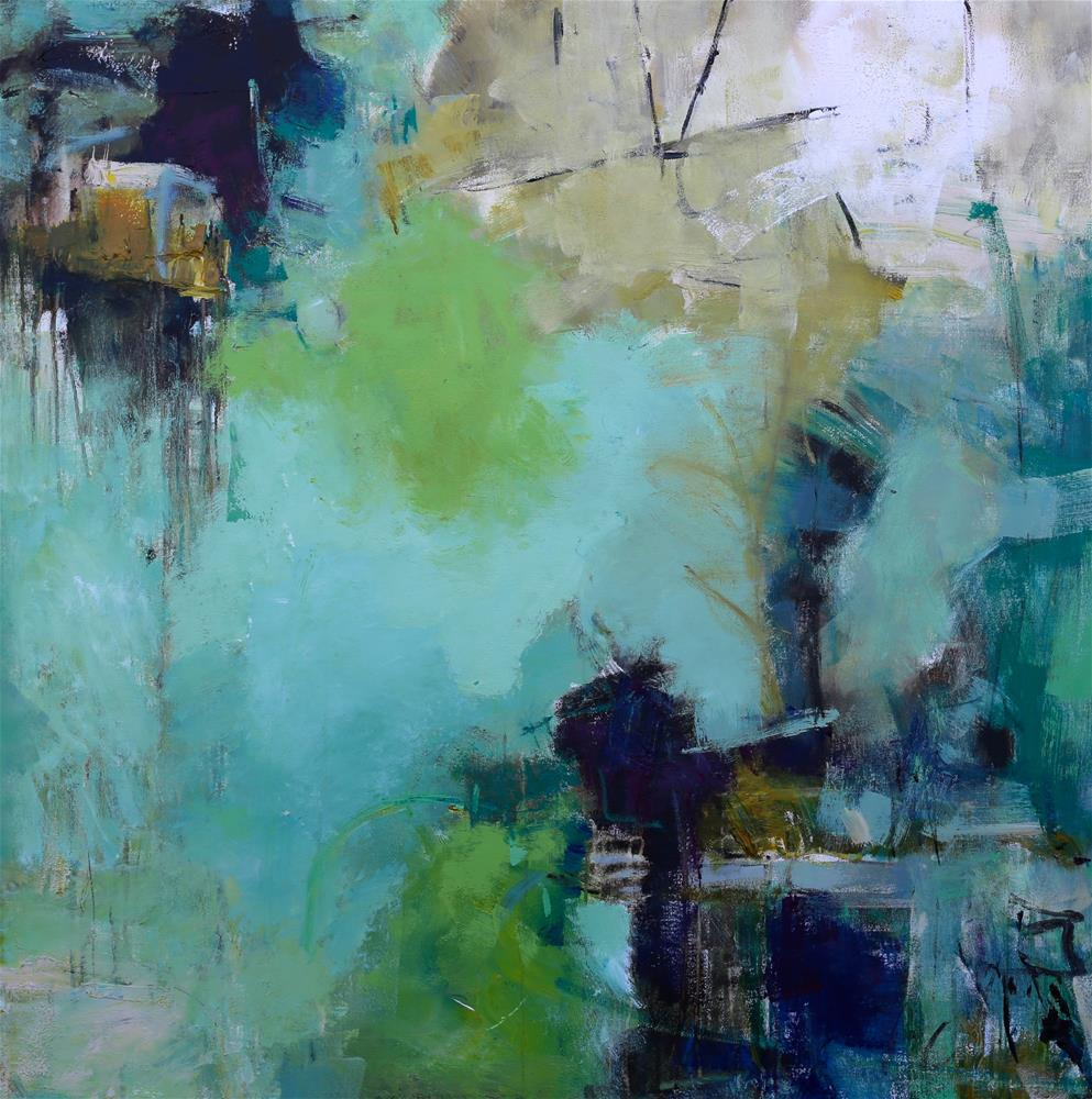 """Dream Life"" original fine art by Elizabeth Chapman"