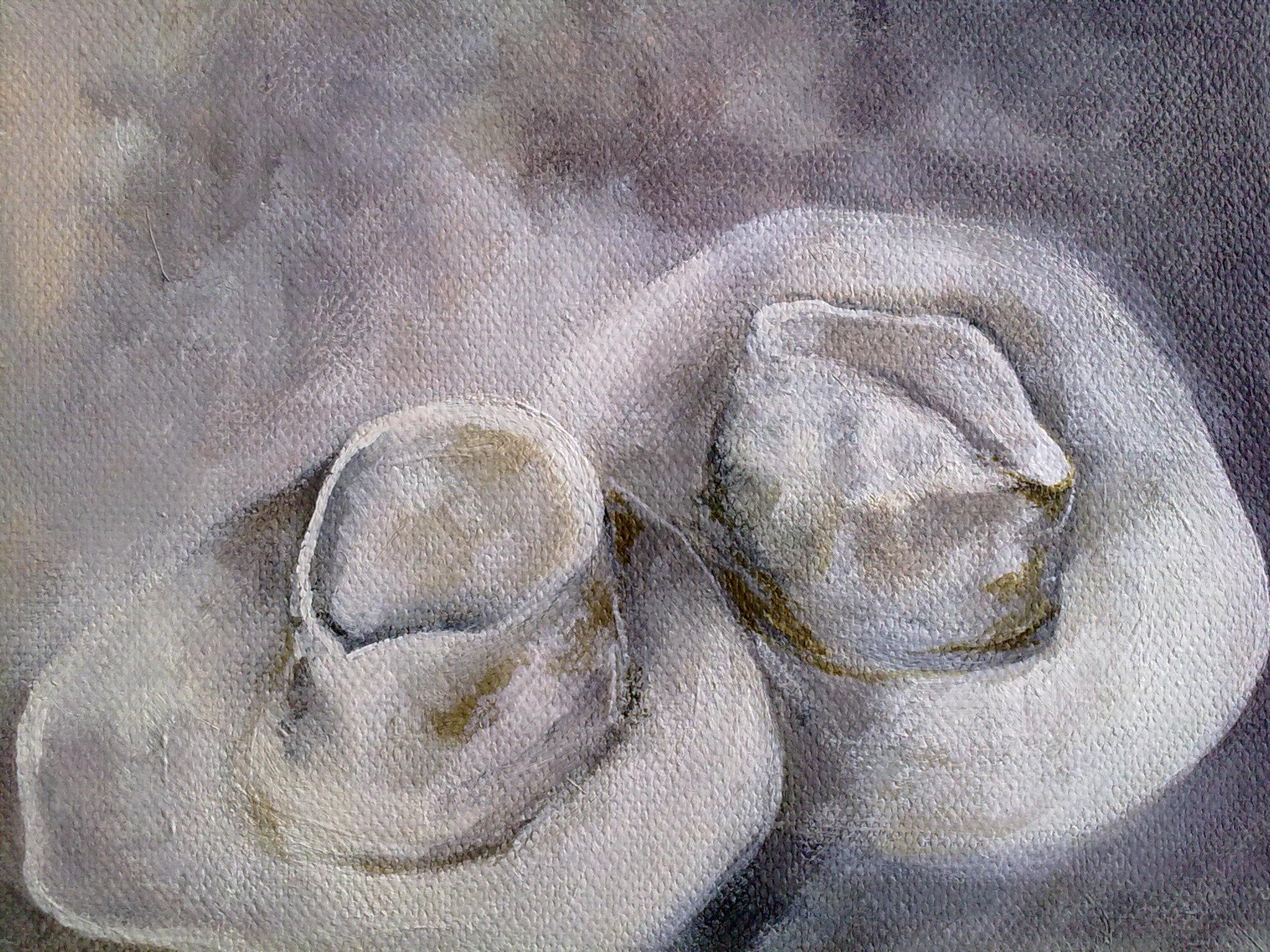 """""""Hats"""" original fine art by Monica Pinotti"""