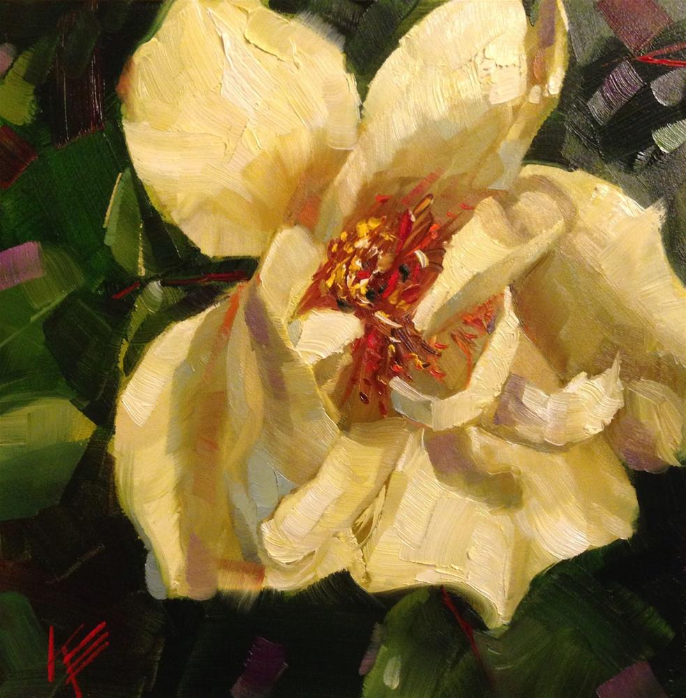 """Summertime Bloom"" original fine art by Krista Eaton"