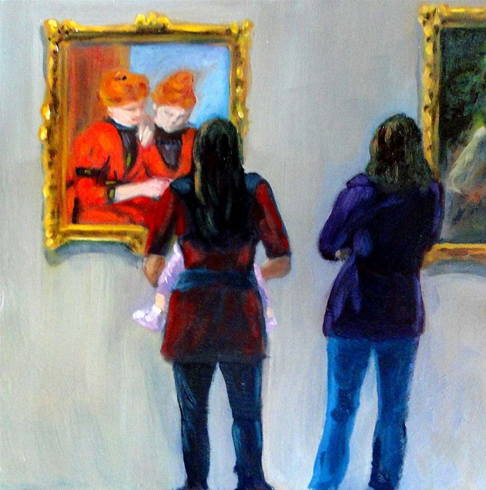 """Sisters"" original fine art by Cietha Wilson"