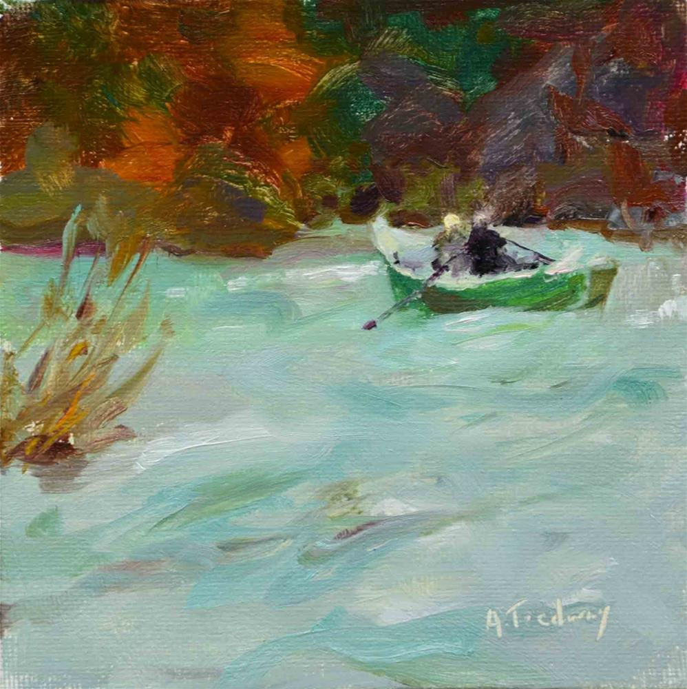 """Fishing Enthusiasts"" original fine art by alicia tredway"