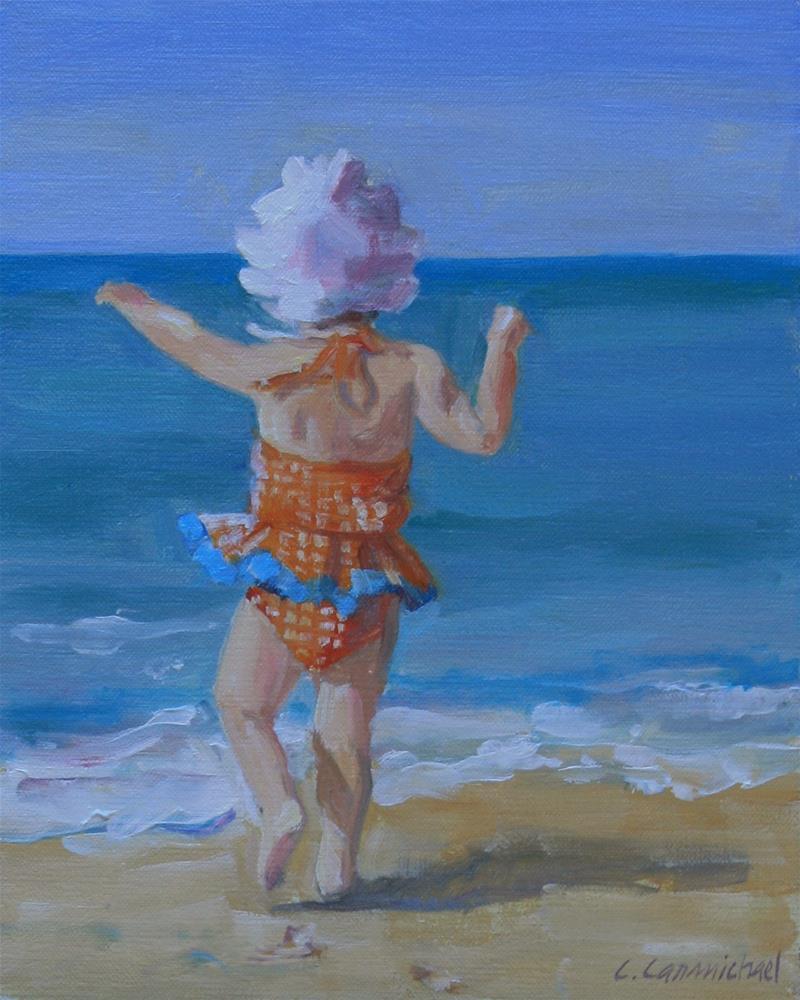 """""""joy"""" original fine art by Carol Carmichael"""