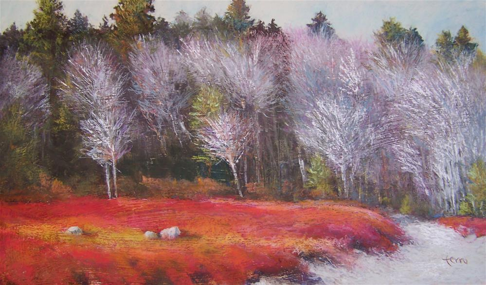 """Feather Trees"" original fine art by Susan Ferro"
