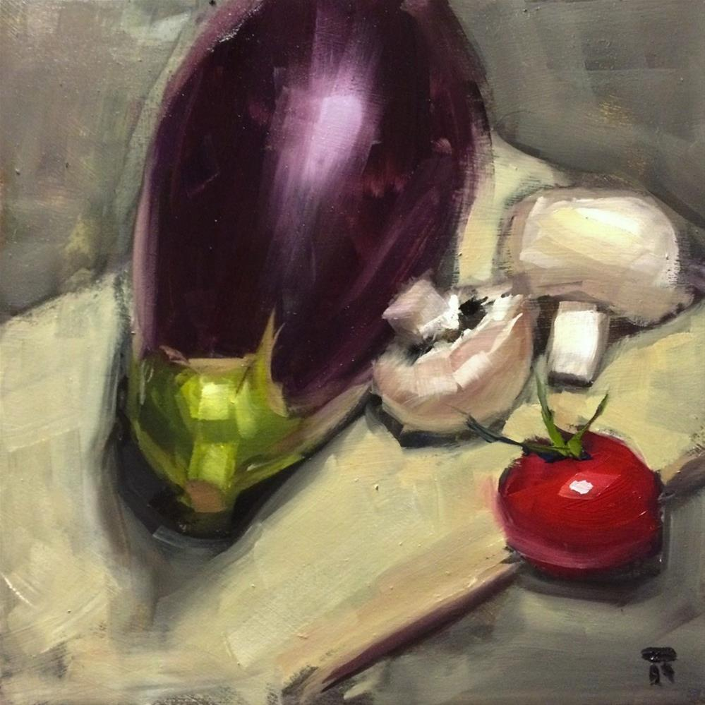 """Vegetable Selection"" original fine art by Thomas Ruckstuhl"