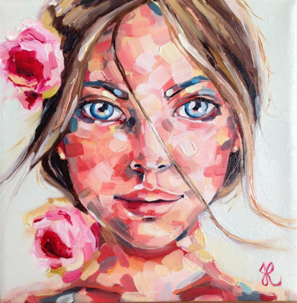 """Roses"" original fine art by Jacinthe Rivard"