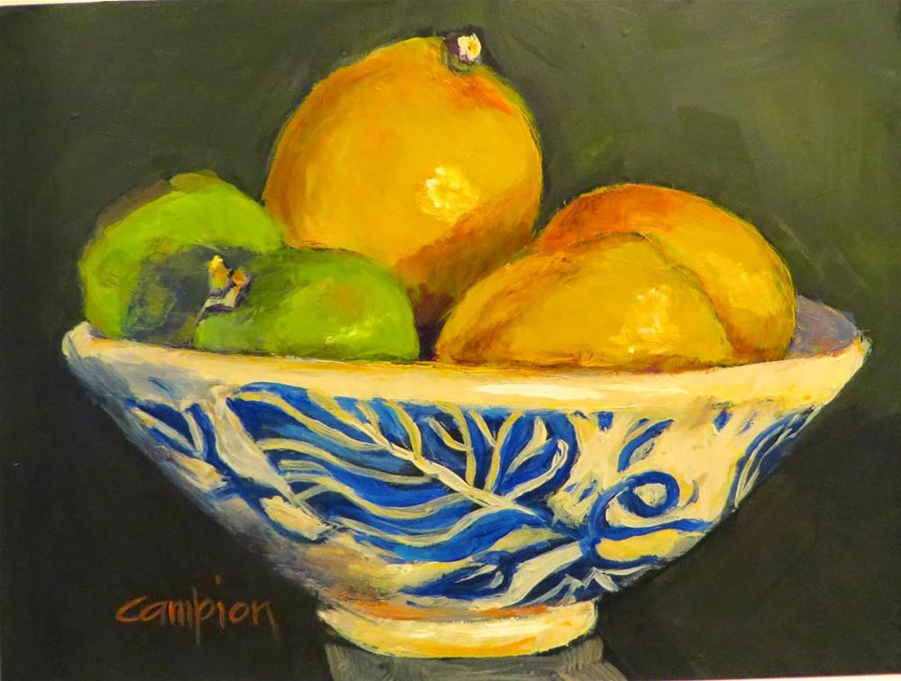"""540 Mixed Company"" original fine art by Diane Campion"
