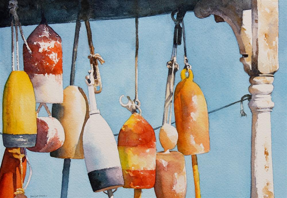 """ LOBSTER TALES "" original fine art by Dwight Smith"