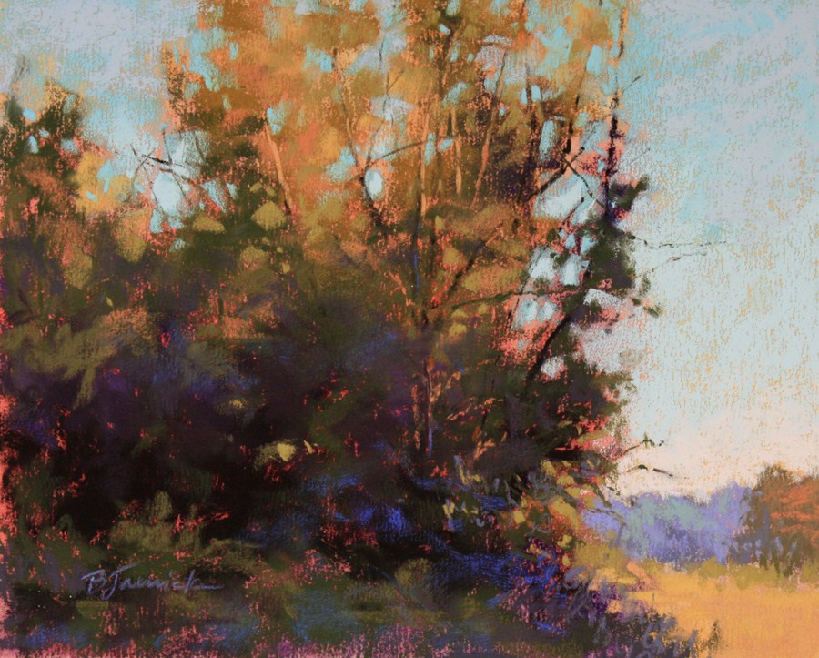 """Morning Glow"" original fine art by Barbara Jaenicke"