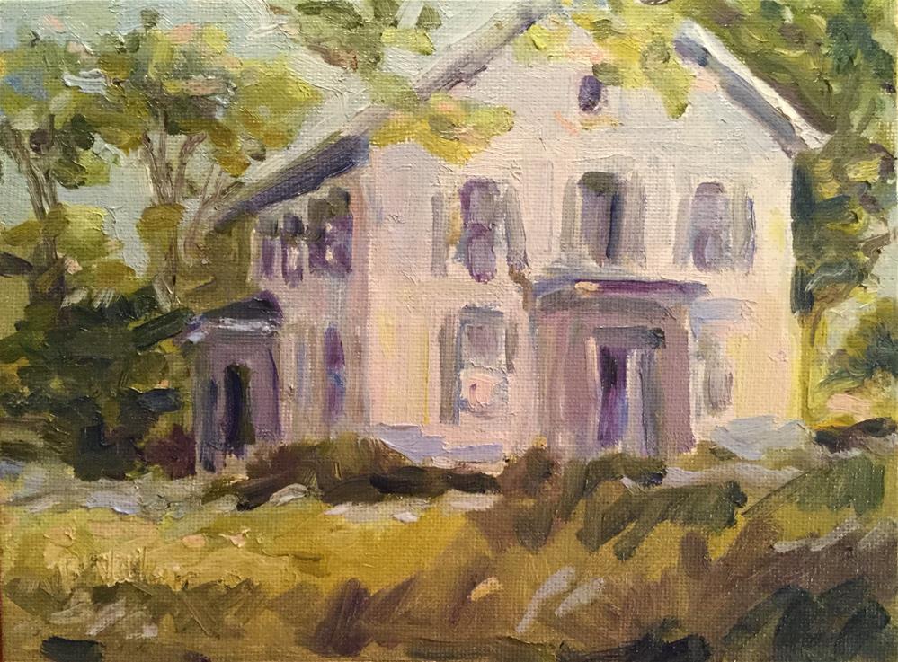 """Kenyon Road"" original fine art by Barb Walker"
