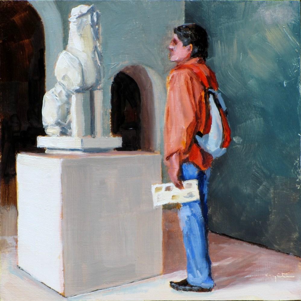 """""""Diálogo"""" original fine art by Eduardo Carpintero"""