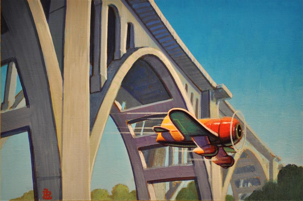"""Span"" original fine art by Robert LaDuke"