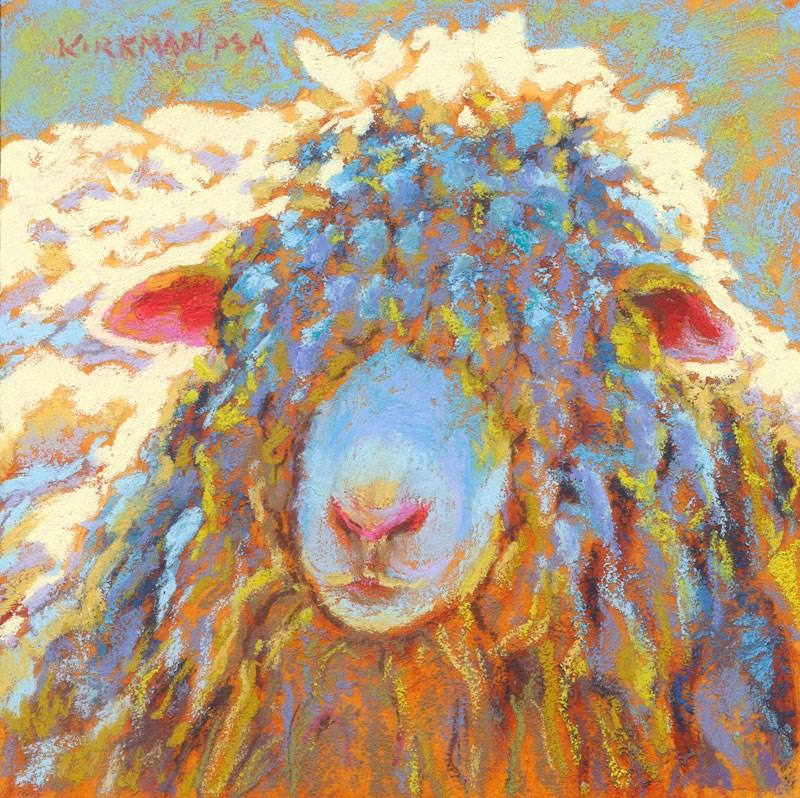 """Mophead"" original fine art by Rita Kirkman"