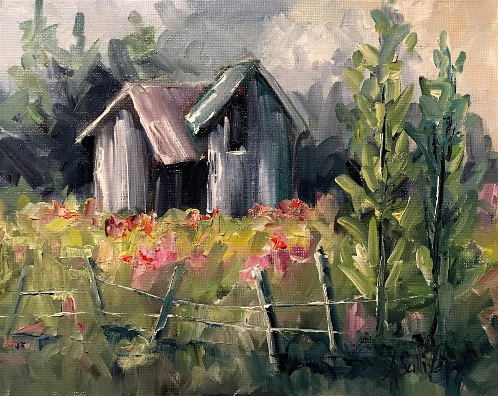 """A Place Like No Other landscape painting by Alabama Artist Angela Sullivan"" original fine art by Angela Sullivan"