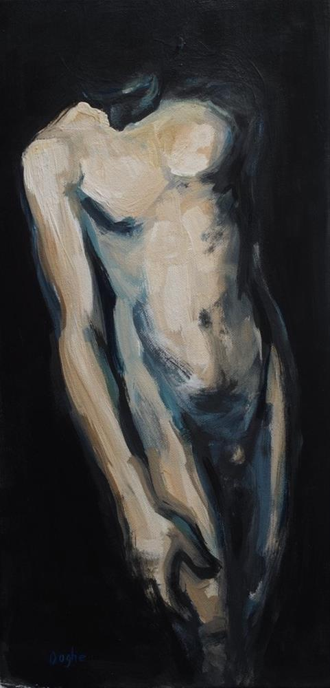 """Standing "" original fine art by Angela Ooghe"