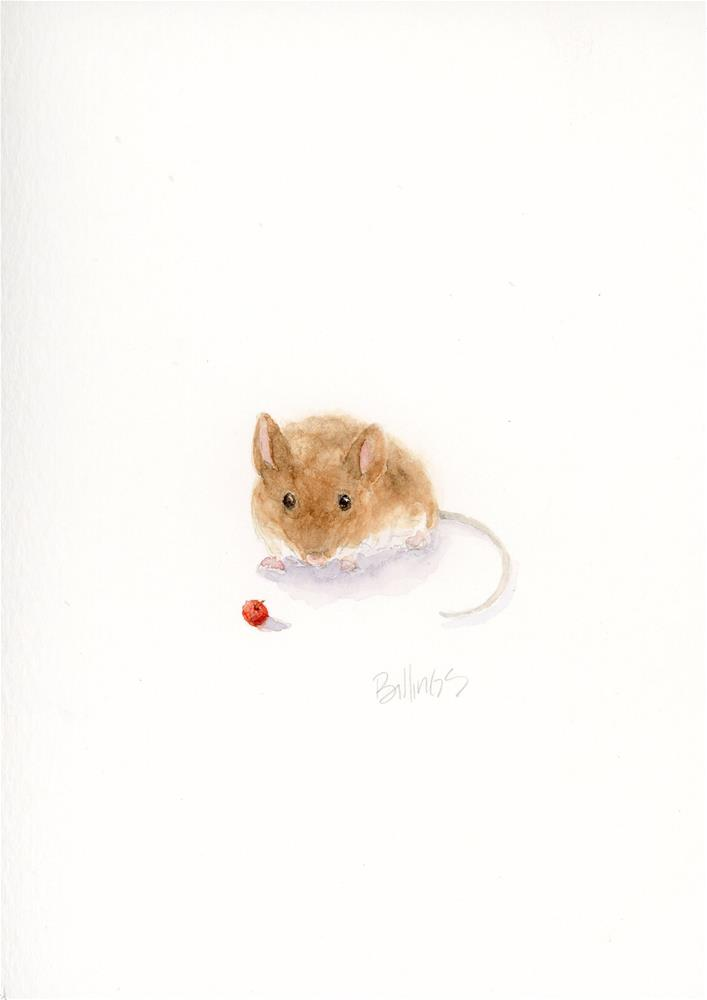 """Mouse Study III"" original fine art by Susanne Billings"