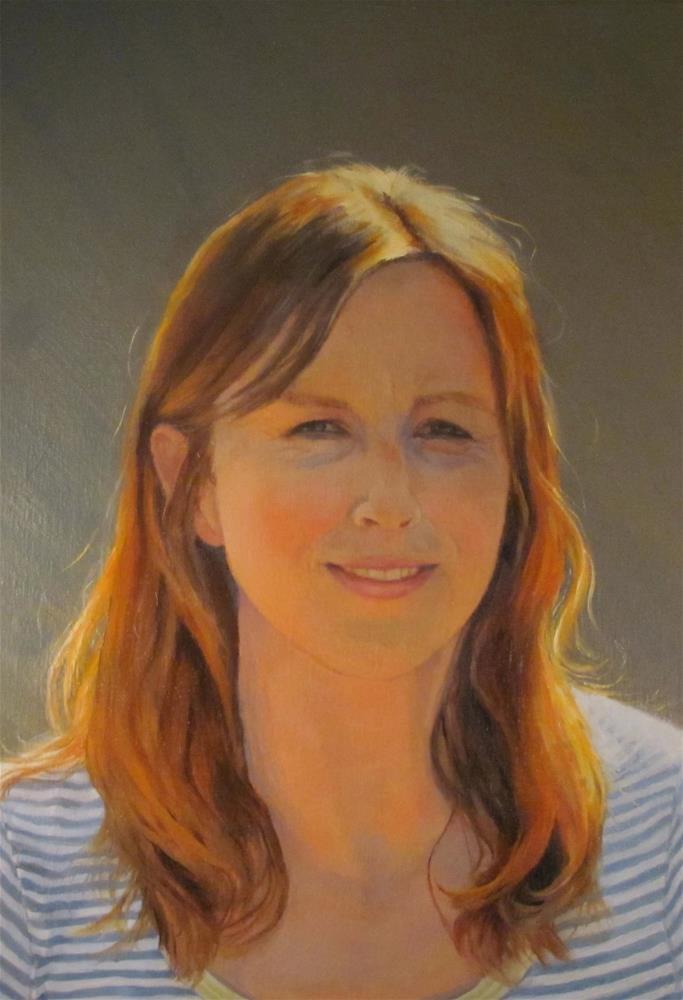 """Jenny"" original fine art by Sue Harrell"