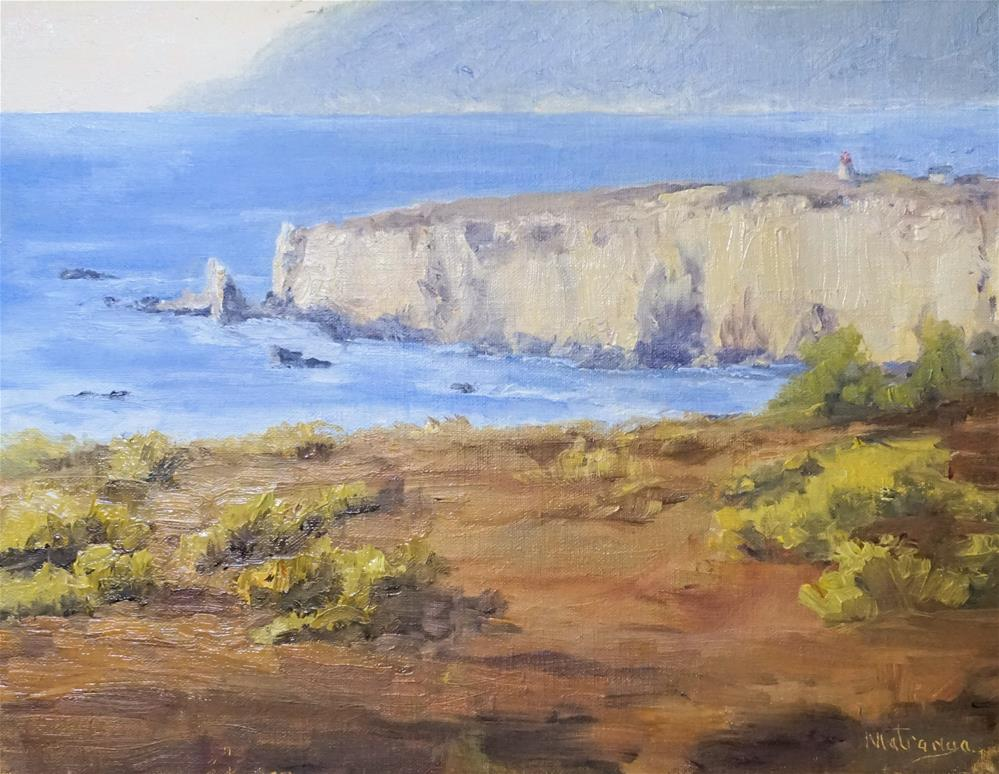 """Pacific Valley Bluff"" original fine art by Patricia Matranga"
